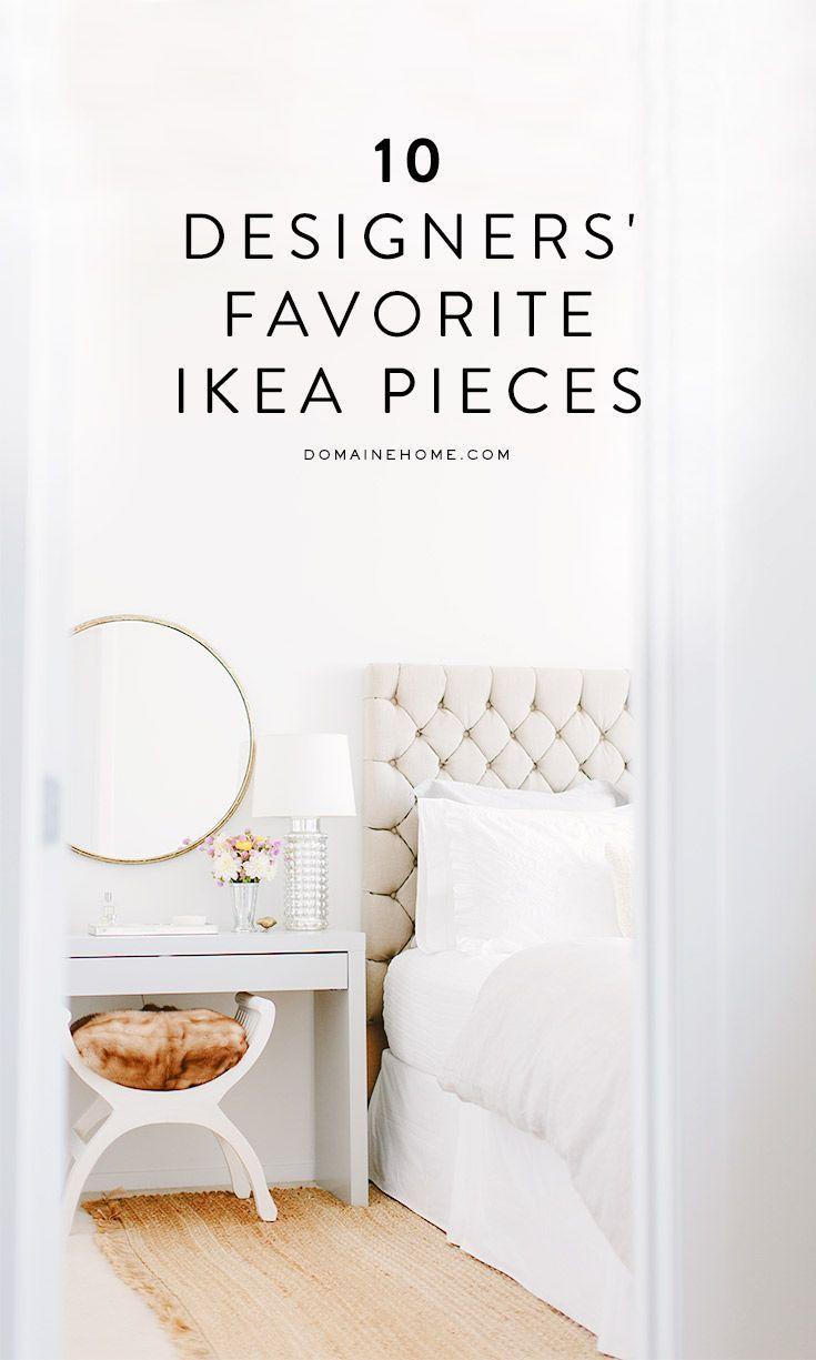 Best Decor Hacks 10 Designers Share Their Favorite Ikea Pieces  # Mettre Des Roulettes Sur Un Meuble Besta
