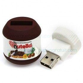 Nutella-Wettbewerb: Gewinnen Sie einen Nutella-USB-Stick!