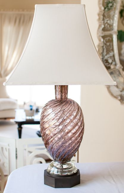 LampIn Lavender Murano 2019 Glass Vintage jAS4qRc3L5