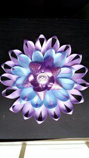 Alli Crafts: Craft Tutorial: Large Ribbon Flower