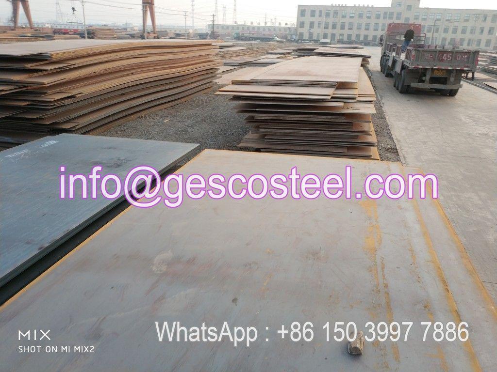 Hot Rolled Steel Plate Steel Plate Iron Steel Steel