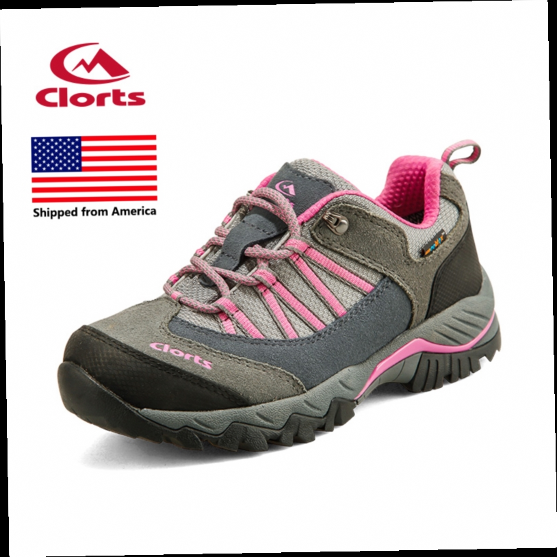 43.73$  Buy here - http://ali3gr.worldwells.pw/go.php?t=32755060570 - Shipped From USA Clorts Women Trekking Shoes EVA Outdoor Hiking Shoes Breathable Camping Sport Shoes HKL-831 43.73$