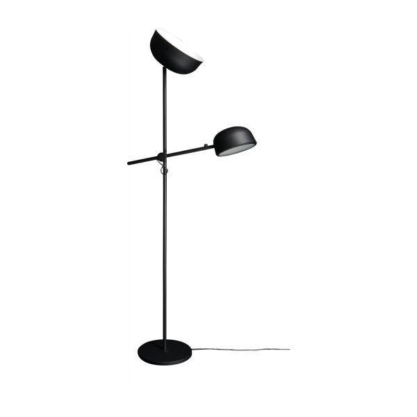 Amy Floor Lamp Habitat Metal Noir Lampe Sur Pied Lampadaire