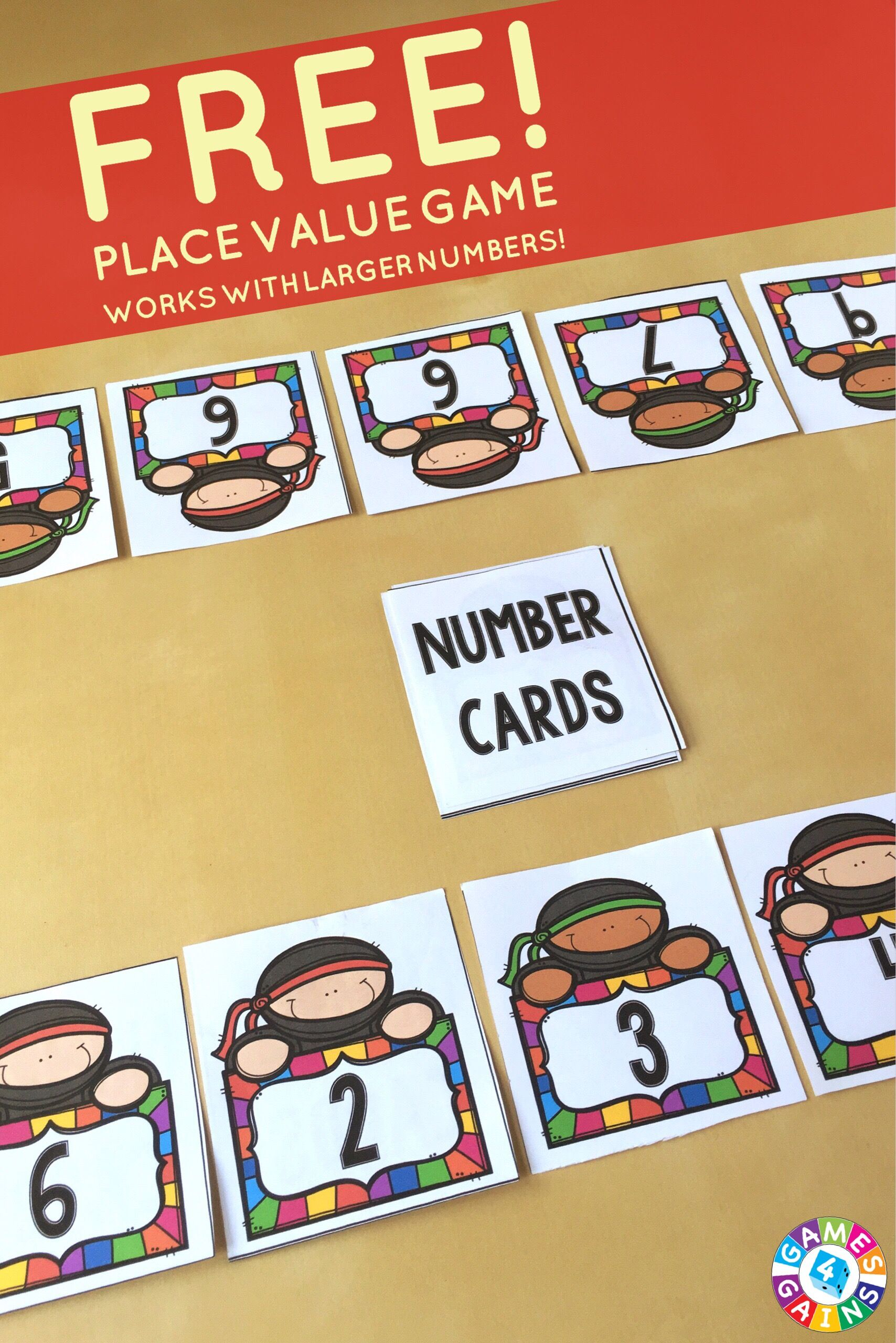 Place Value Game Top Up! Place values, Fun classroom