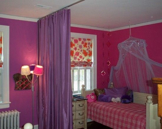 Purple Kids Design Ideas Pictures Remodel Decor Room Divider Cheap Dividers Fabric