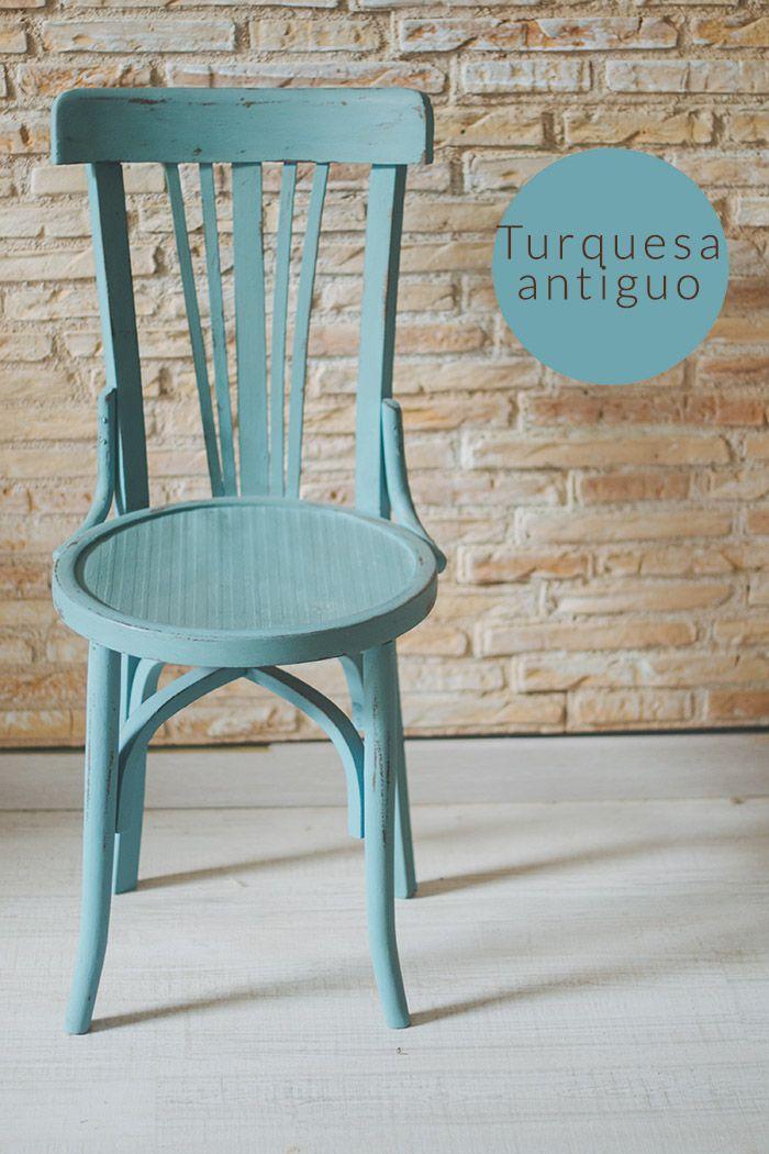 Sillas de colores hadas y cuscus diy pinterest - Hadas y cuscus ...