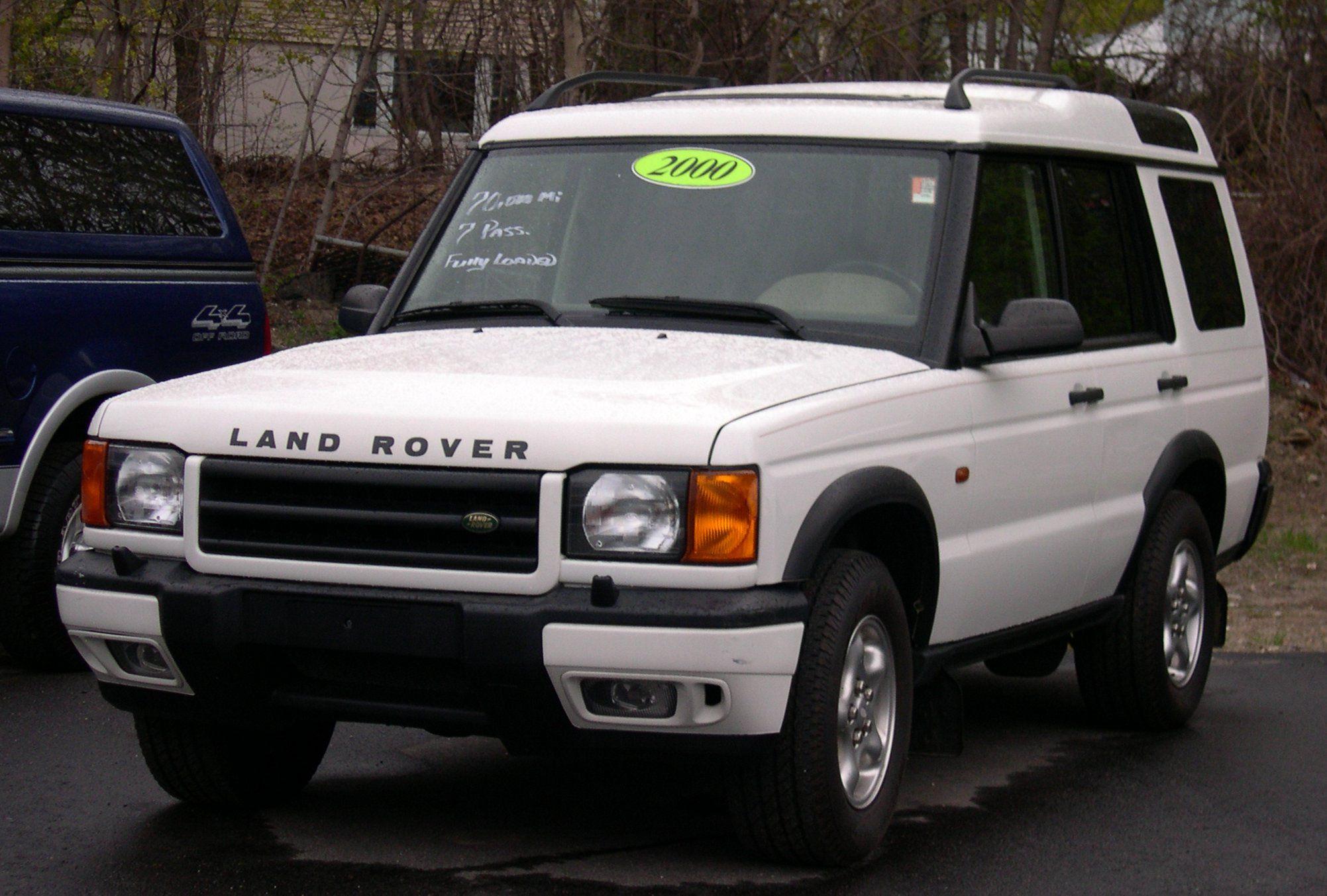 Land Rover white #2