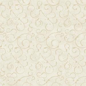 Chesapeake Shin Silver Golden Scroll Texture Wallpaper
