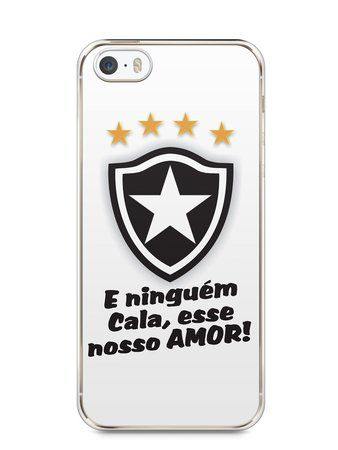Capa Iphone 5 S Time Botafogo  3  6836cda423d10