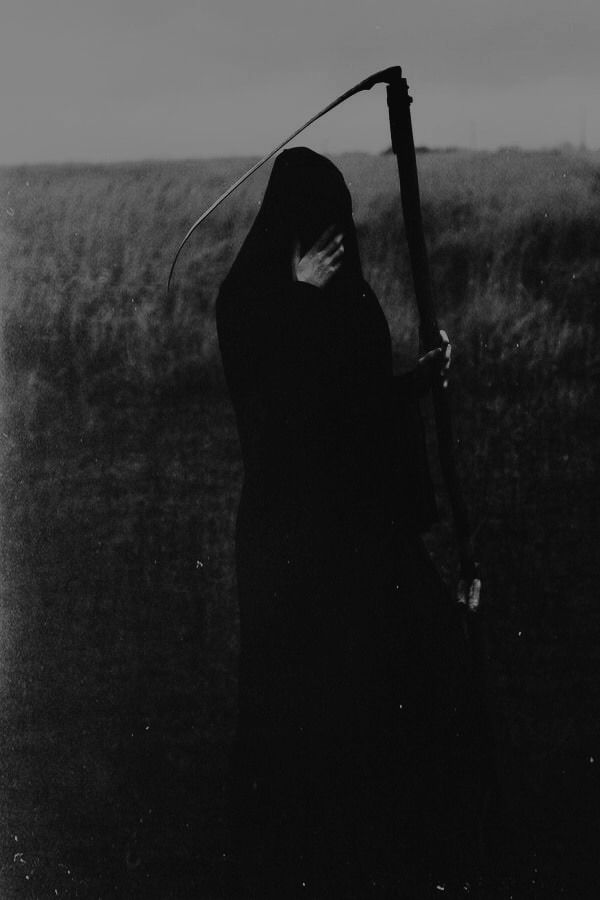 Death - Maria Petrova ( my edits ) - #dark #death #edits #my #occult #photography