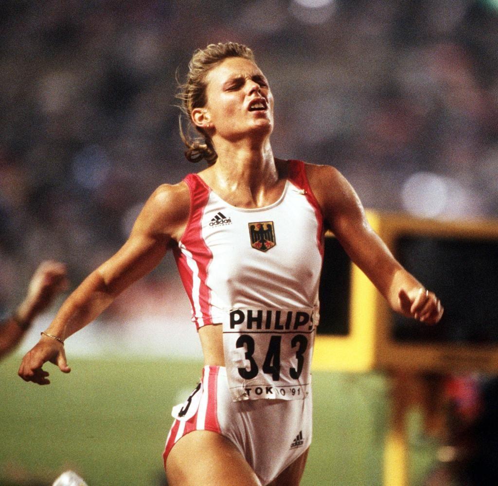 Image result for Katrin Krabbe Sports women, Athletic