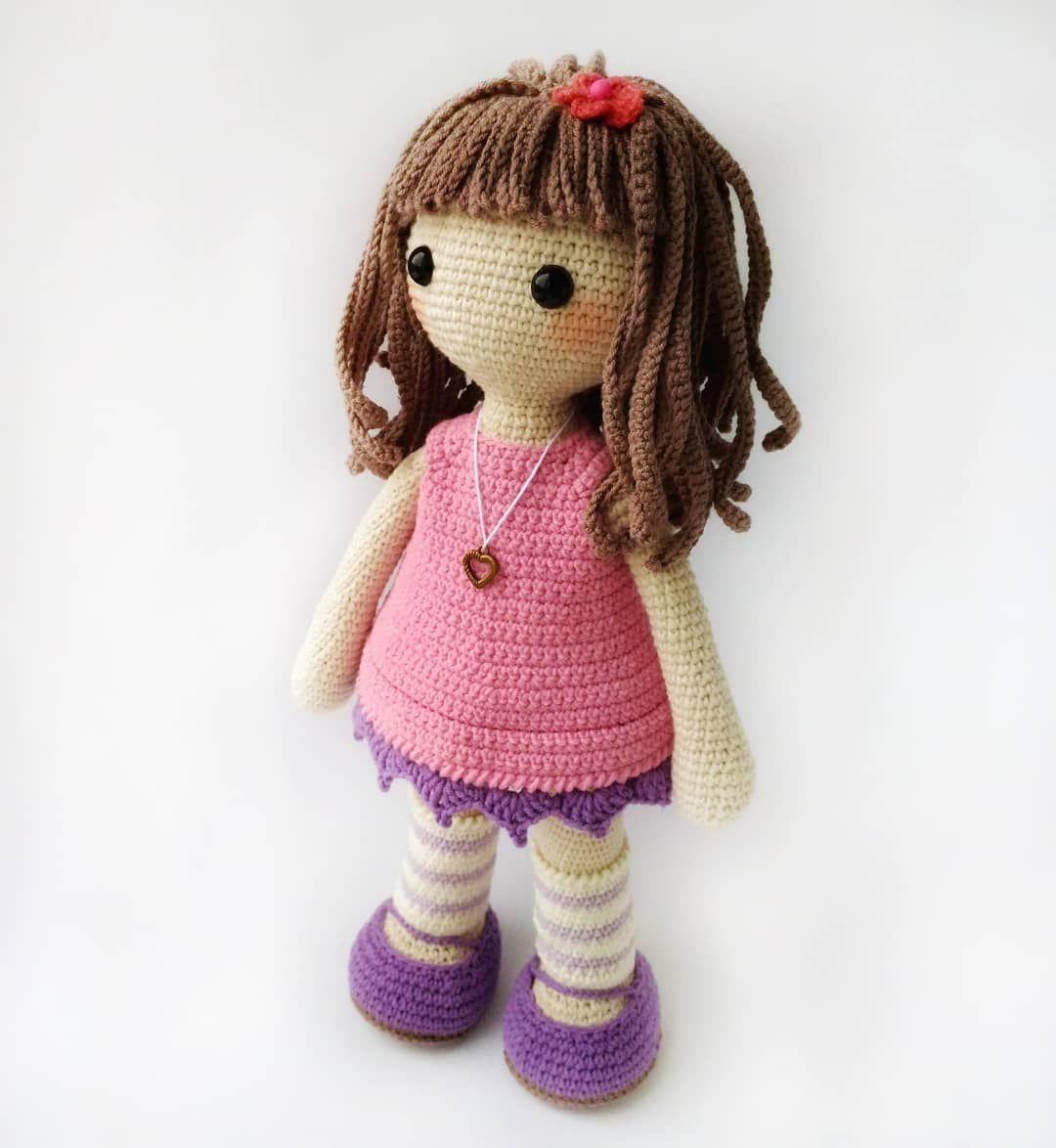 кукла девочка в платье амигуруми вязаная крючком мастер классы по