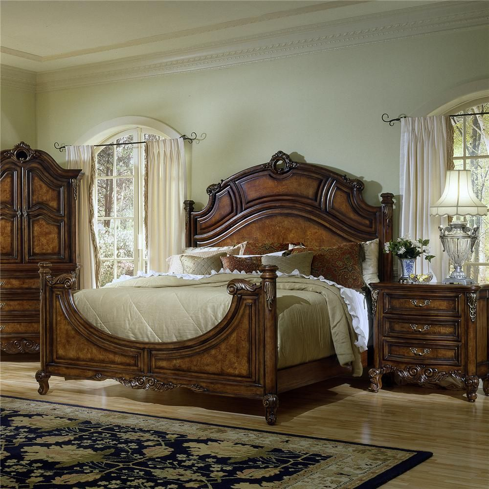 Repertoire King Overlay Crown Bed By Fairmont Designs Home - Fairmont designs bedroom sets
