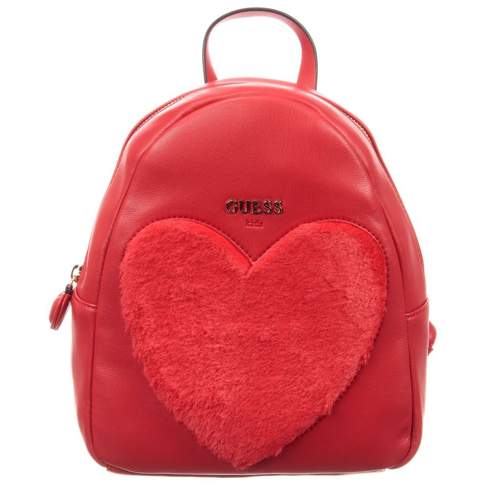 3cb2871ddb Girls Red Backpack (26cm) for Girl by Guess. Discover more beautiful  designer Bags