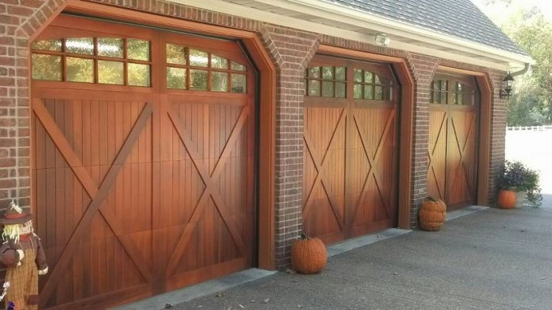 Residential Carriage House Overlay Garage Doors Carriage Garage