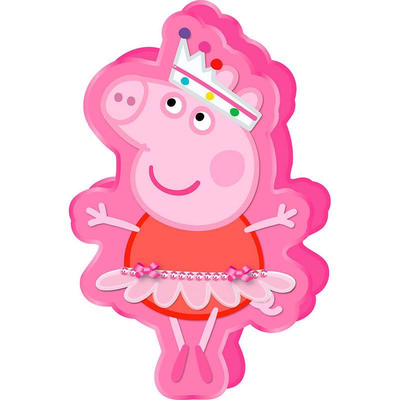 Cojin peppa pig bailarina