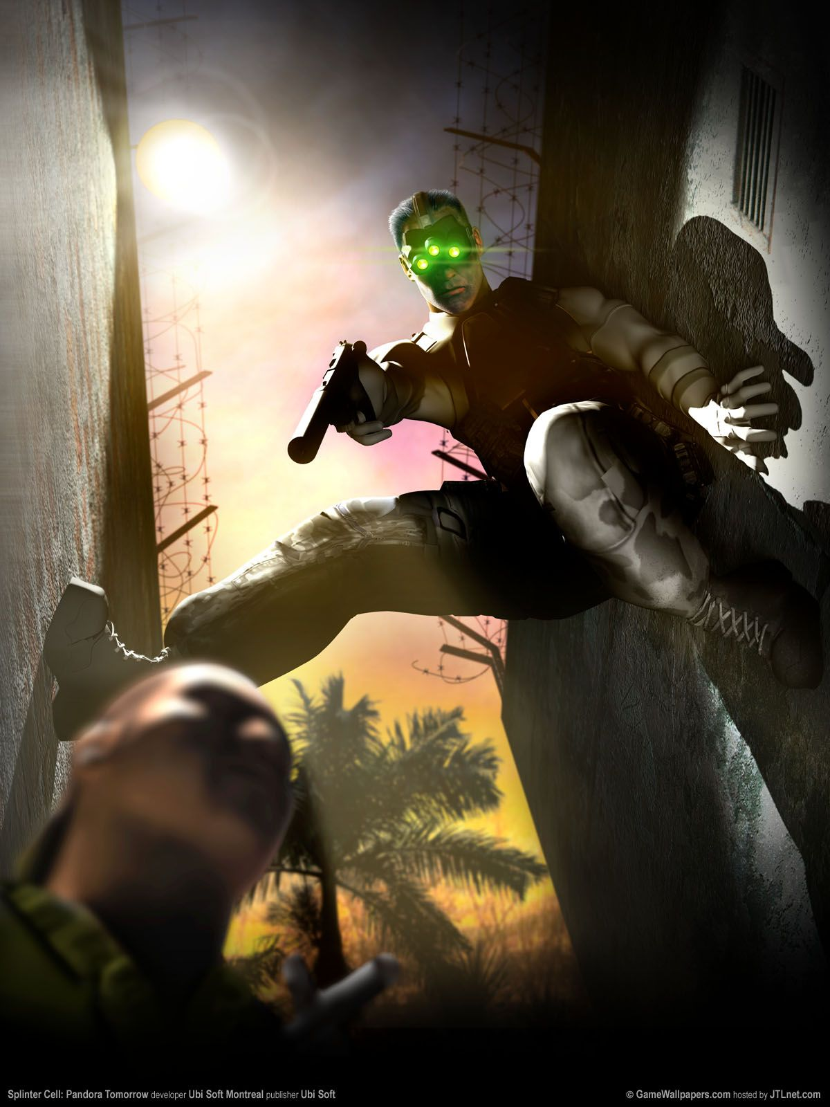 Sam Fisher With Images Tom Clancy S Splinter Cell Fisher Cell