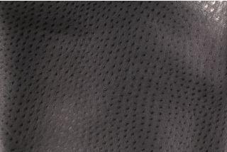Richloom Pipelime Vinyl Upholstery Fabric in Black $9.95 per yard