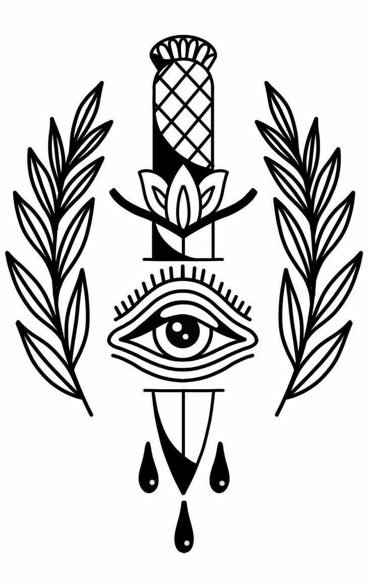 Bocetos De Tatuajes Tradicionales para mí | tatuajes tradicionales, dibujos y bocetos tatuajes