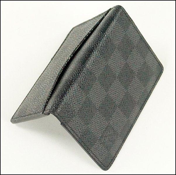 Louis Vuitton Damier Graphite Pocket Organizer : Lot 136-9110 #louisvuitton #damier #organizer #LV #couture