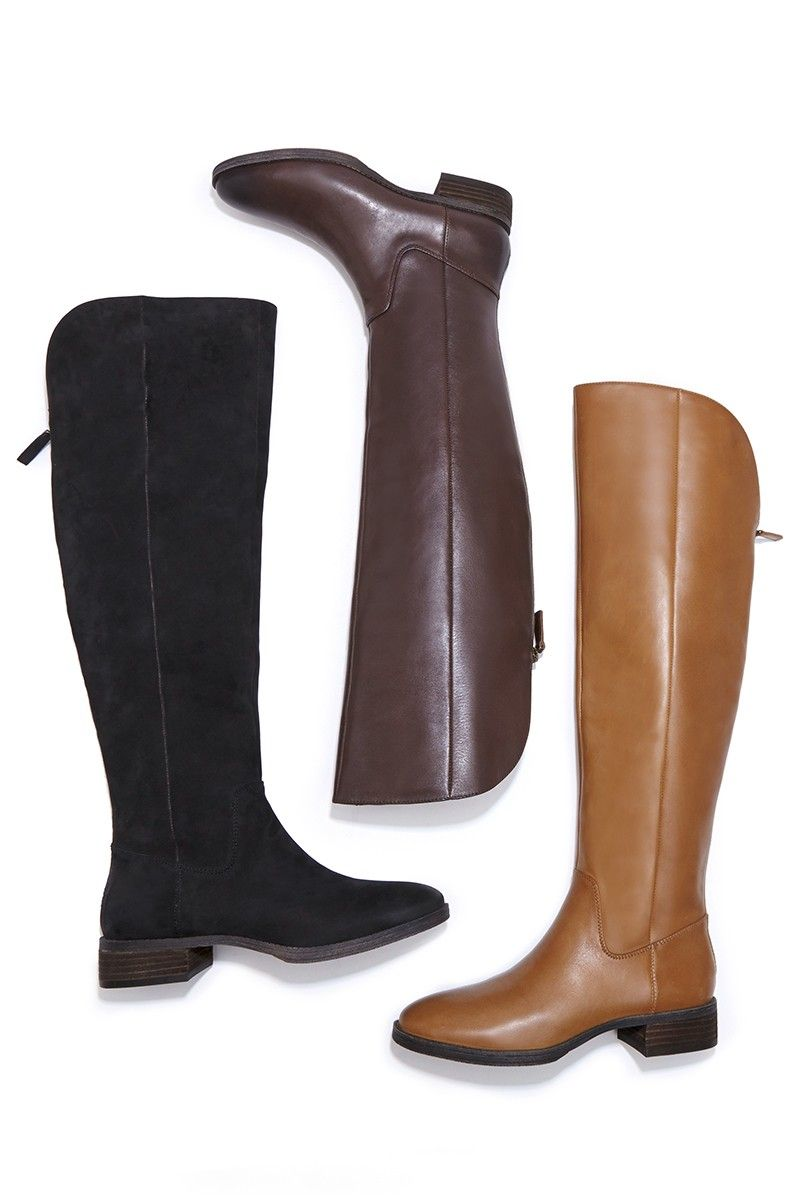 Classic over-the-knee riding boots