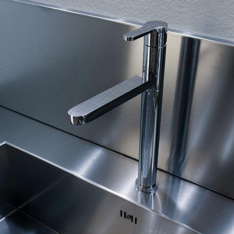 Treemme Küchenarmatur Klab chrom schwenkbarer Auslauf - villeroy und boch küchenarmaturen