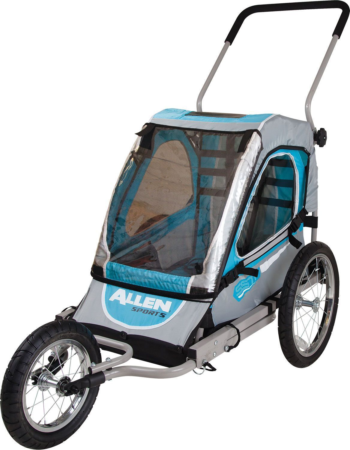 Allen Sports Deluxe Single Bicycle Trailer (With images