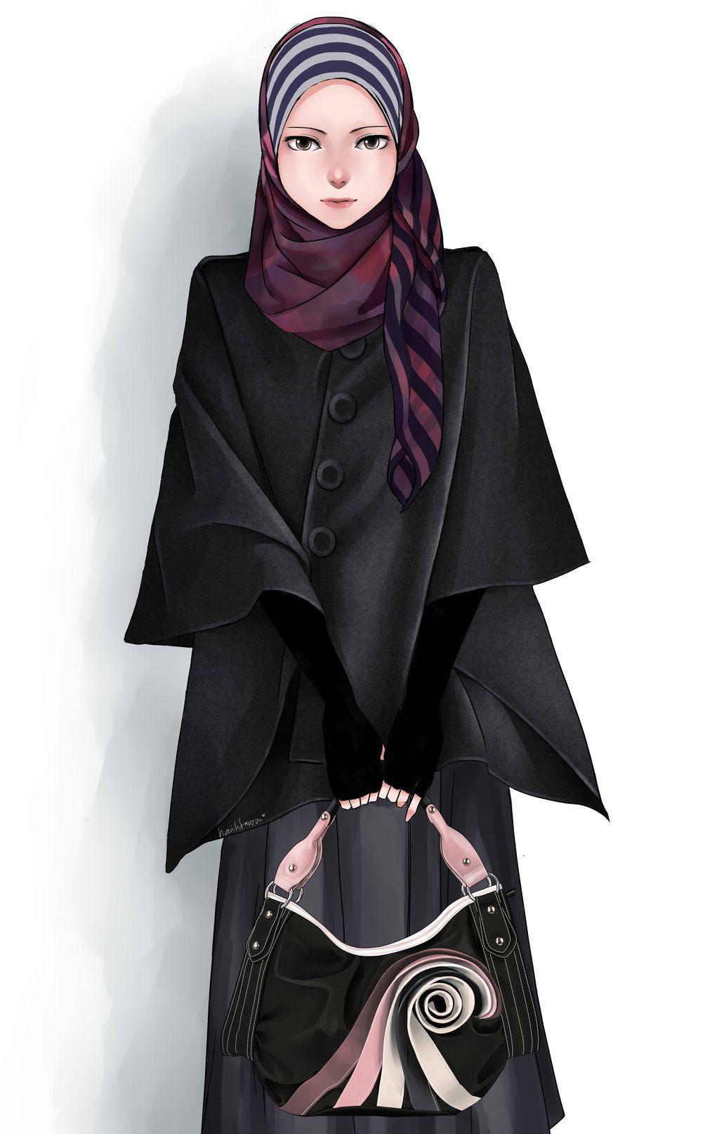 Hijab by on deviantART