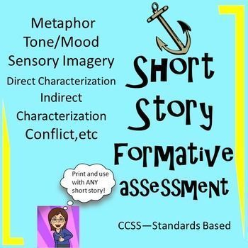 Short Story Assessment Cooperative Learning Back To