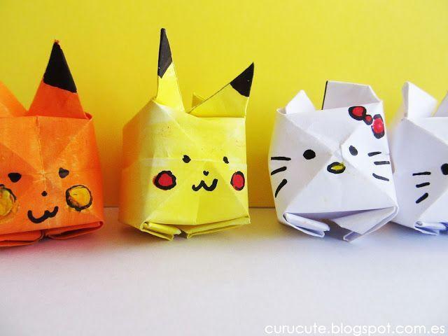 Aprendiendo de todo un poco: Origami: