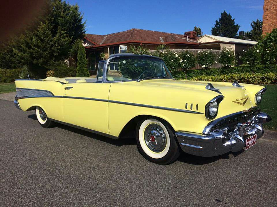 I Found Haruka S Car Moonie I Ll Get One Just For The Two Of Us Someday We Ll Be Like The Wind 1957 Chevrolet Classy Cars Cute Cars