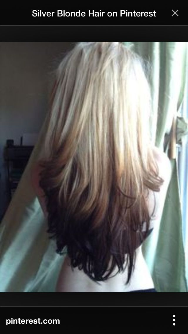 Next Hair Job Hair Styles Long Hair Styles Reverse Ombre Hair