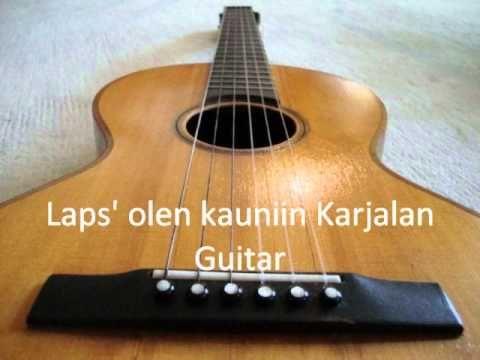 """Laps' olen kauniin Karjalan - This is my arrangement of """"Laps' olen kauniin Karjalan"""". via YouTube"""