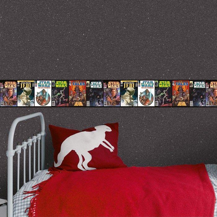 Star Wars Film Border Kids Toddler Bed Star Wars Film Kids Wallpaper