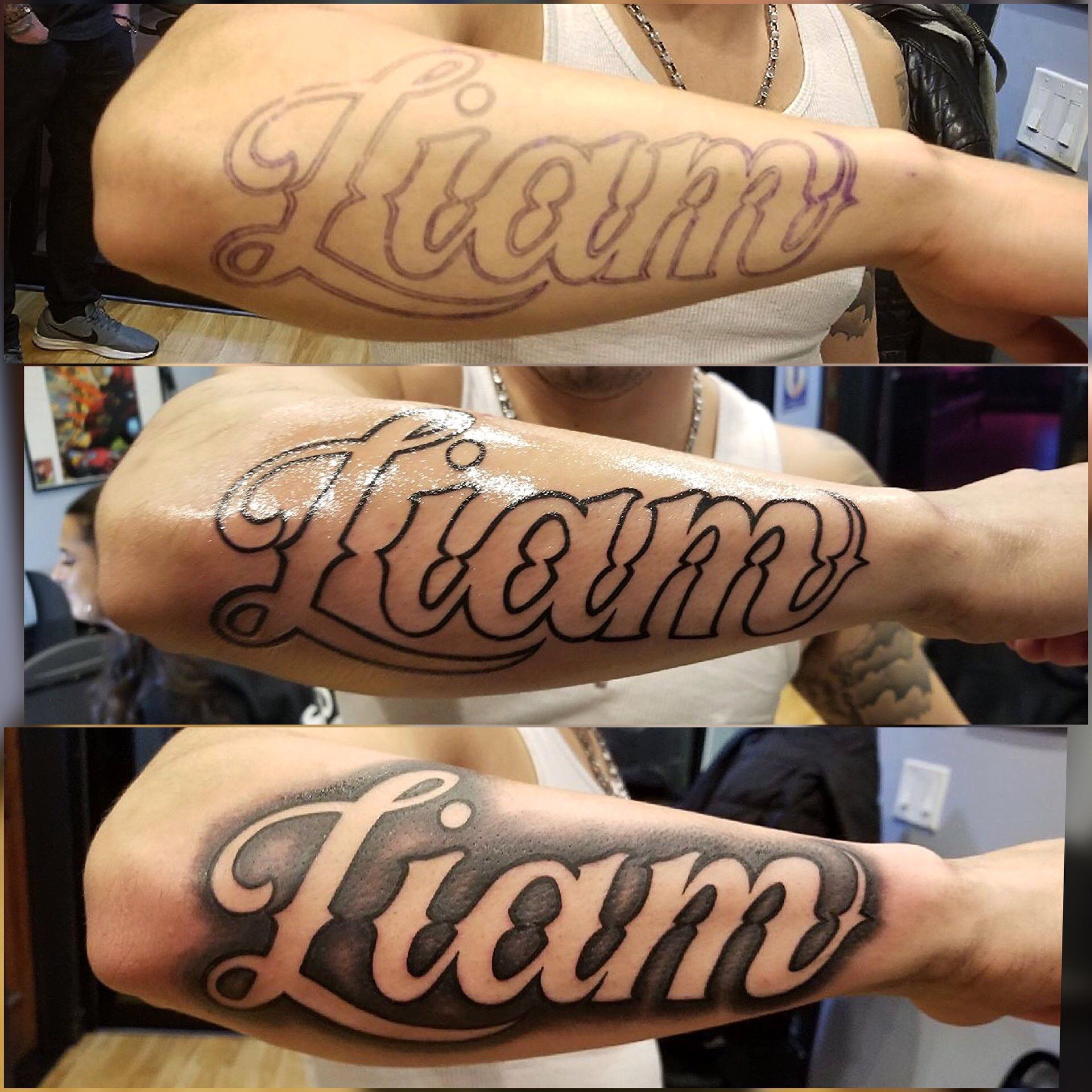 Name Tattoo Name Tattoos Forearm Name Tattoos Tattoo Lettering Styles