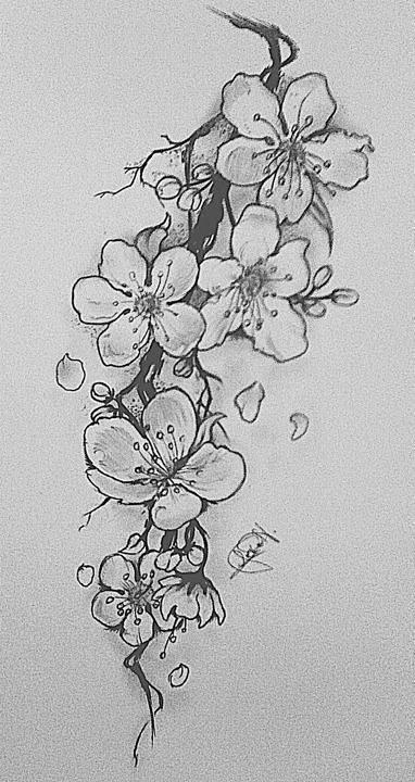 77 Niedliche Und Minimalistische Kleine Tattoo Ideen Fur Frauen Nadine Tattoo Flowertattoos Tatuajes De Flor De Cerezo Produccion Artistica Tatuajes Negros