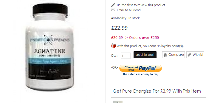 Agmatine is a novel polyamine that's quickly gaining
