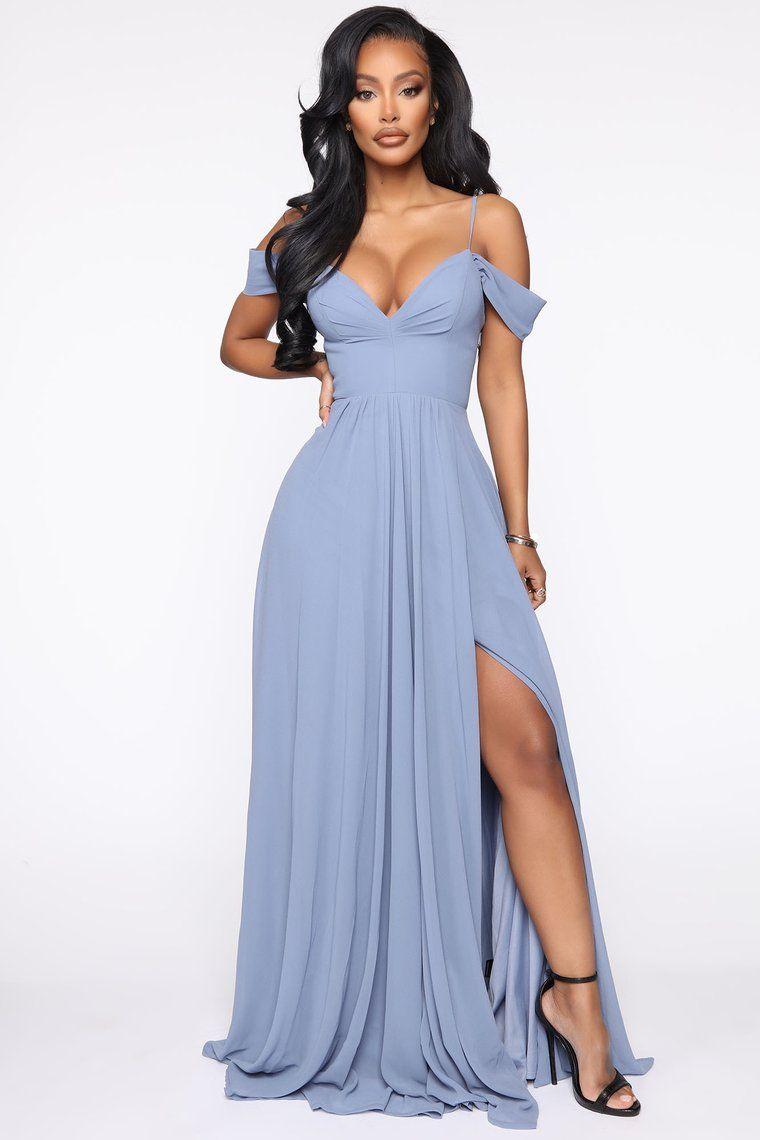 We Go Together Maxi Dress Blue in 2020 Blue dresses