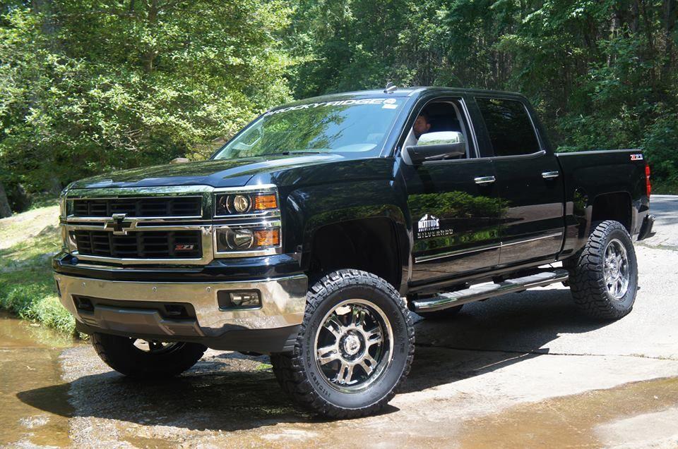 Lifted 2014 Silverado 1500