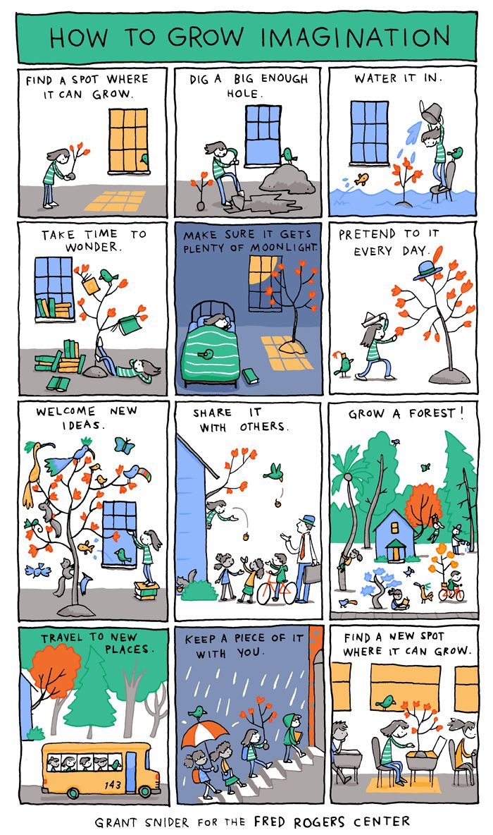 How To Grow Imagination Life Comics Comics Writing Inspiration