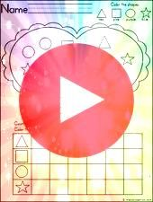 Shapes Graph Heart Shapes Graph 1NBT3 Comparing Numbers Valentines Layout Hi friends Now that Ive taken a little breather in June  we had birthday parties for both of my...