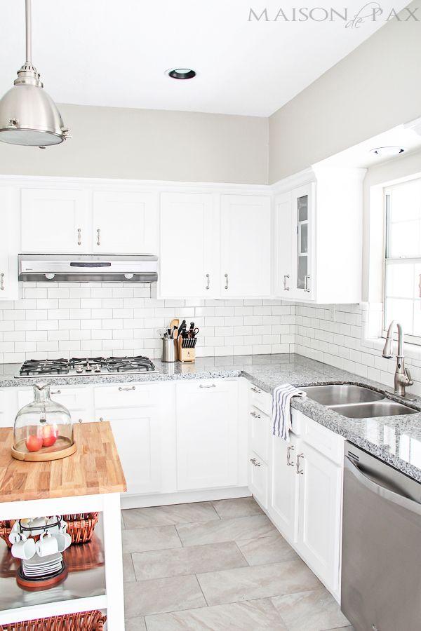 Classic White Kitchen Muebles blancos, Vitrinas y Cocinas blancas