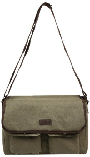 Sachi 195 171 Insulated Canvas Messenger Lunch