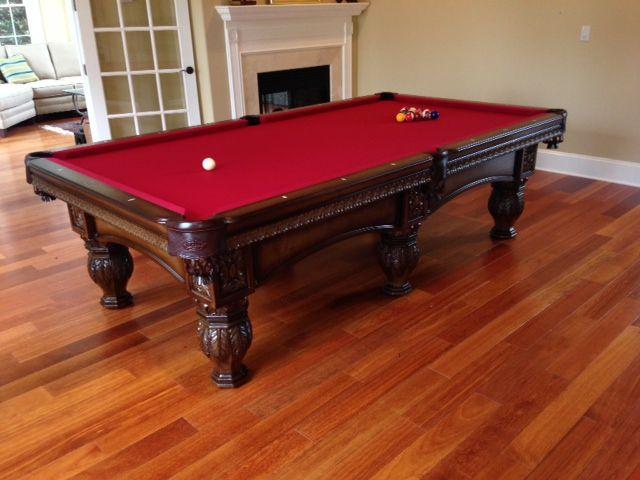 Olhausen Venetian Pool Table 6 Leg Everything Billiards Charlotte Nc Www Everythingbilliards
