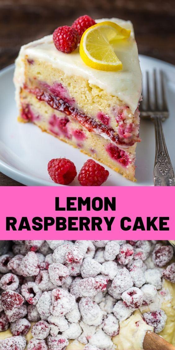 Lemon Raspberry Cake Lemon Raspberry Cake Ultra moist and flavorful Lemon Raspberry Cake