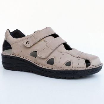 Buty Berkemann 03100 766 Larena Sandaly Zabudowane Damskie Regulacja Tegosci G H Stopy Srednio Szerokie Marki Buty Berkemann Fisherman Sandal Shoes Sandals