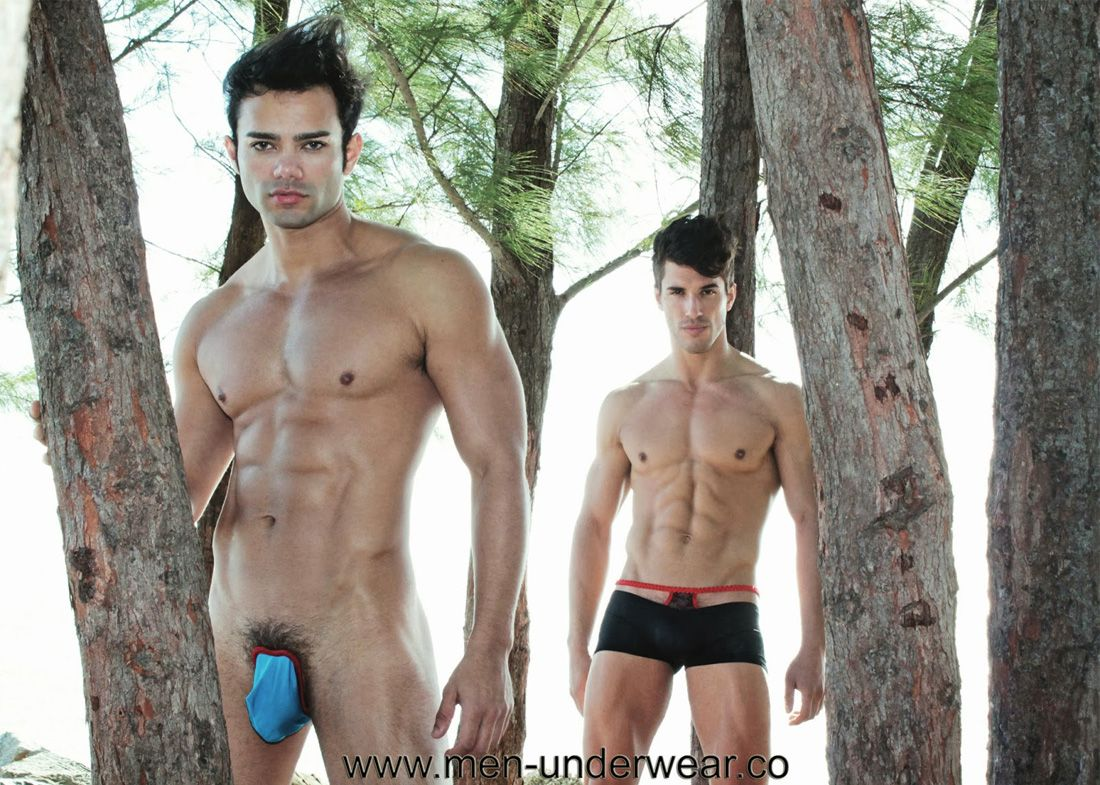 Gay male underwear models #10