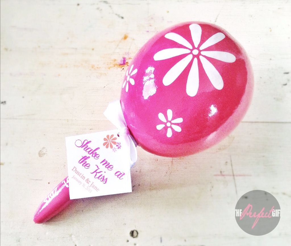 Mexican wedding favor Custom Maracas. Mexican party, best favors by ...