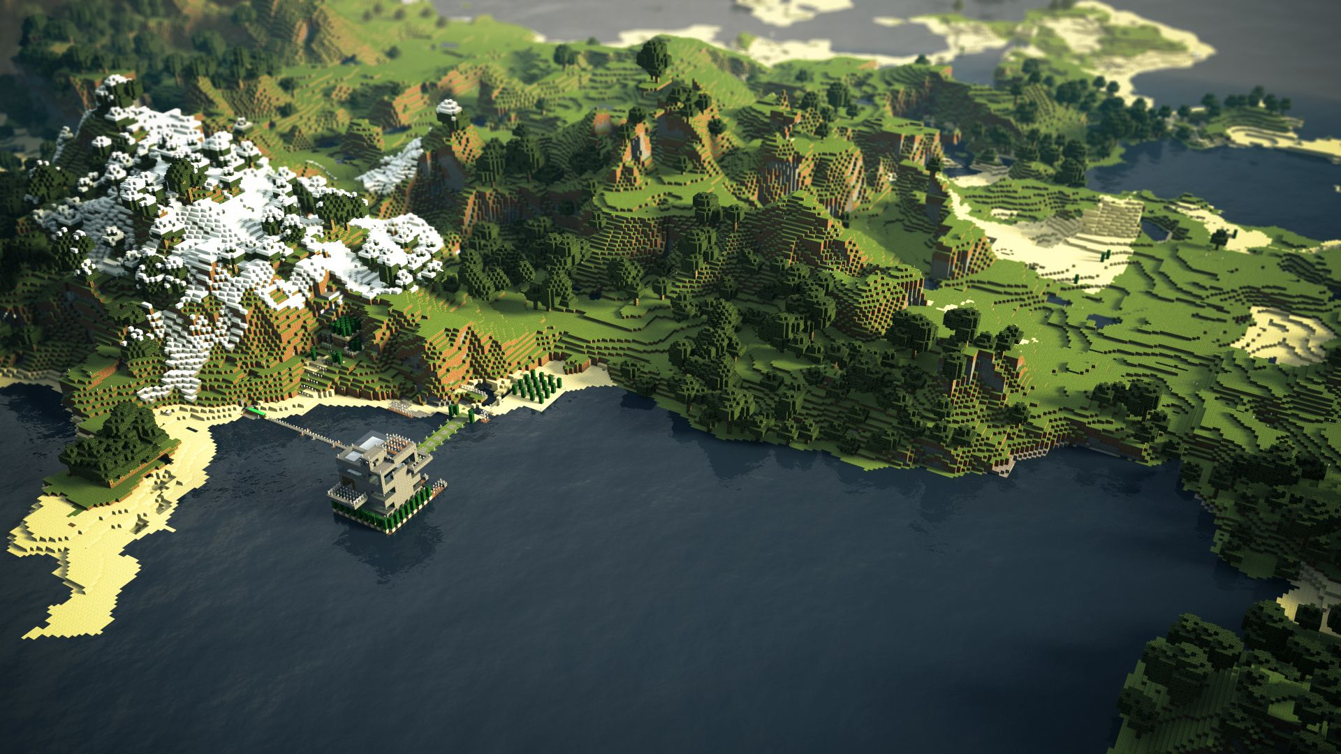 1080p minecraft wallpaper