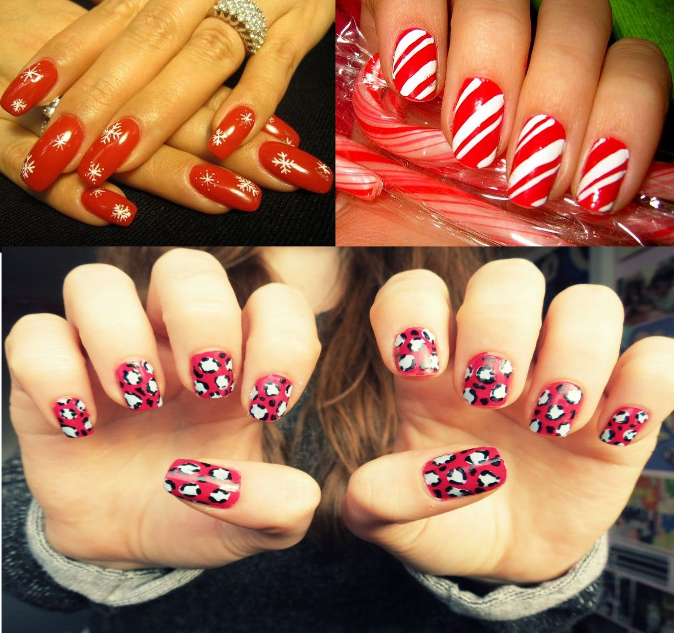 5 dramatic christmas nail art designs for you#nail art designs